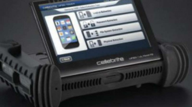 Cellebrite Ufed Touch, dapat menyedot data-data di HP meski sudah lama dihapus.