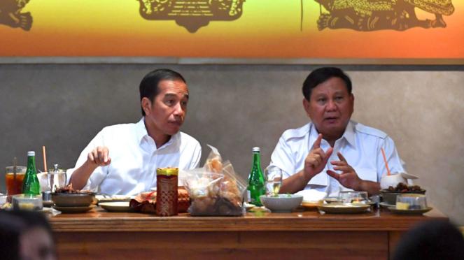 Pertemuan Jokowi-Prabowo