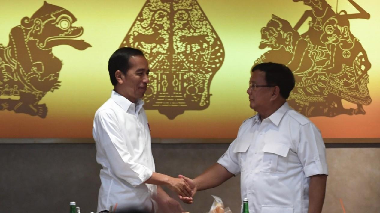 Pertemuan Jokowi dan Prabowo Usai Pilpres 2019