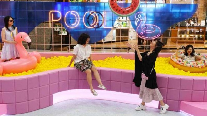 Summer Pool Party di Grand Indonesia