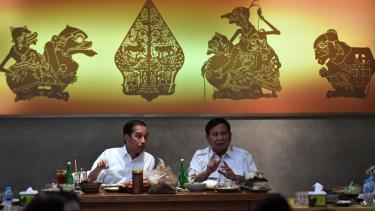 Pertemuan Jokowi-Prabowo Usai Pilpres 2019.