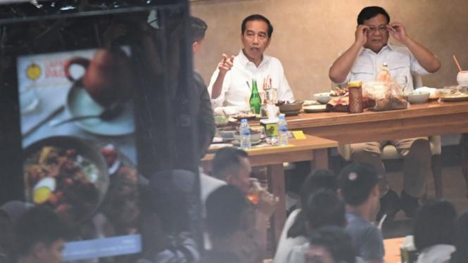 Pertemuan Jokowi-Prabowo Usai Pilpres 2019