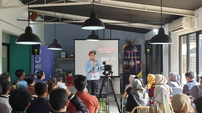 Kelas Kreator tvOne di Bandung