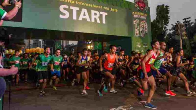 16.000 Peserta Ramaikan MILO Jakarta International 10K 2019