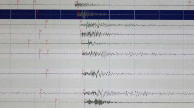 Catatan gempa Halmahera