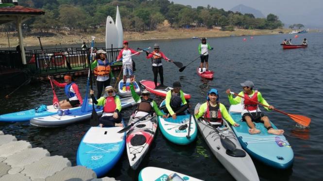 The 1st Jatiluhur Stand up Paddle & Kayak Exhibition 2019