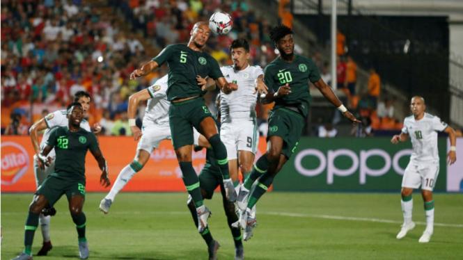 Duel Aljazair versus Nigeria di semifinal Piala Afrika 2019