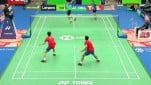 Ko Sung Hyun/Shin Baek Cheol vs Lee Yang/Wang Chi-Lin.