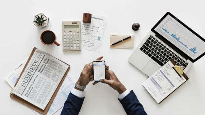 Ilustrasi bisnis di era digital