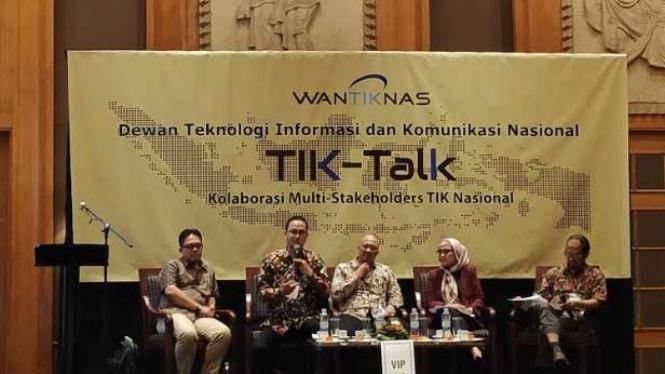 Diskusi Tik Talk soal perlindungan data pribadi