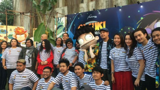 Para cast film Si Juki The Movie: Harta Pulau Monyet.