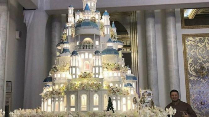 Kue pernikahan karya Renat Agzamov