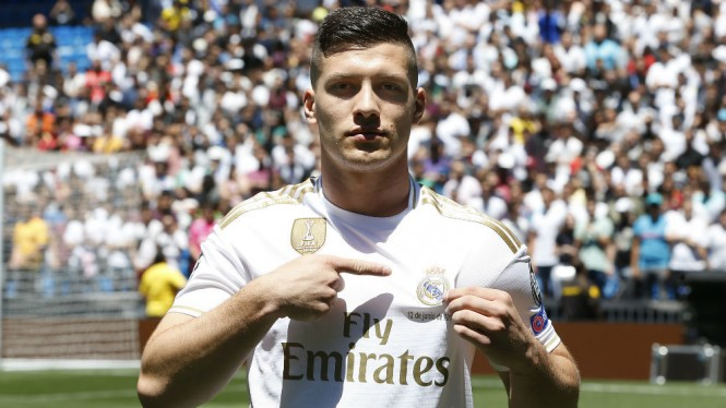 Striker baru Real Madrid, Luka Jovic