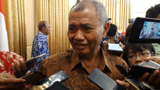 Ketua Komisi Pemberantasan Korupsi (KPK), Agus Rahardjo.
