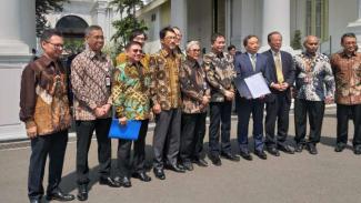 Menteri ESDM Ignasius Jonan dan Bos Inpex Temui Presiden Jokowi