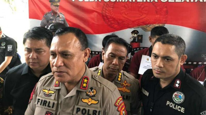 Kepala Polda Sumatera Selatan, Irjen Pol Firli