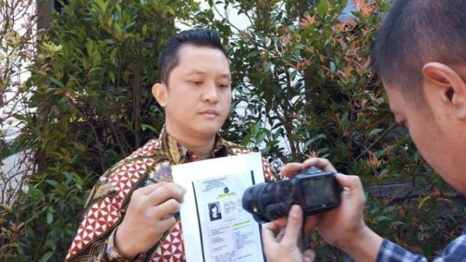 Marten Lucky Zebua, pengacara PT Saritama Tarasindo Citra.