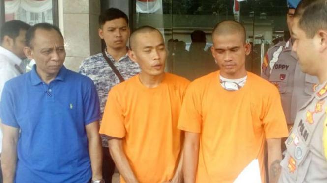 Dua sopir angkot pengguna sabu perkosa remaja perempuan