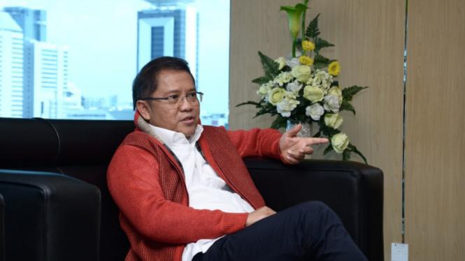 Main Mobile Legends, Menteri Ini Pilih Hanabi Jadi Hero Favorit. (FOTO: Agus Aryanto).