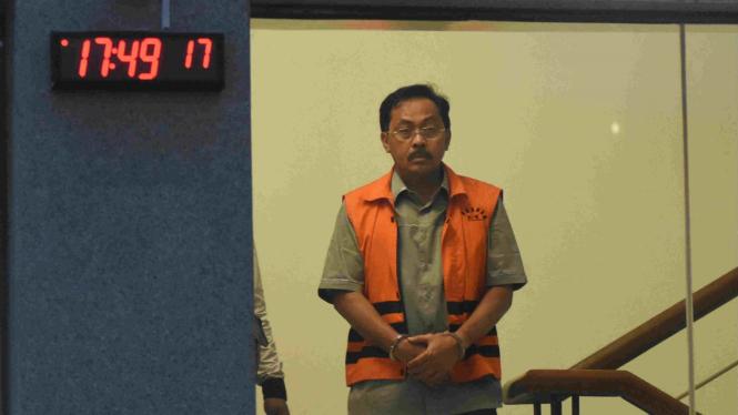 Gubernur non aktif Kepri Nurdin Basirun