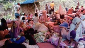 Korban gempa Halmahera Selatan