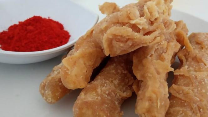 Singkong goreng tepung ala kfc