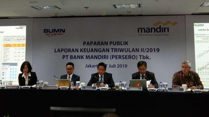 Direksi Bank Mandiri.