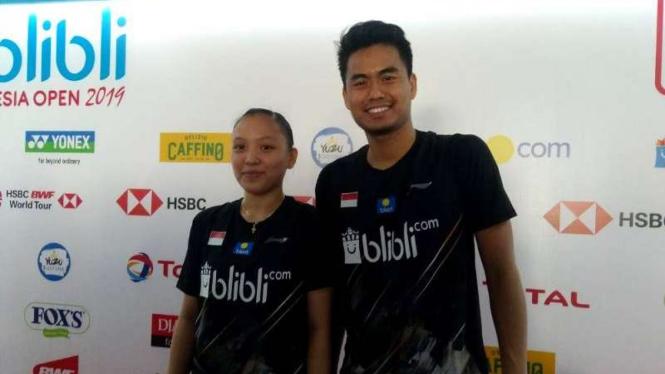 Ganda campuran Indonesia, Tontowi Ahmad/Winny Oktavina Kandow.