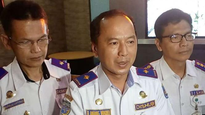 Kepala Dinas Perhubungan Kota Depok Dadang Wihana.