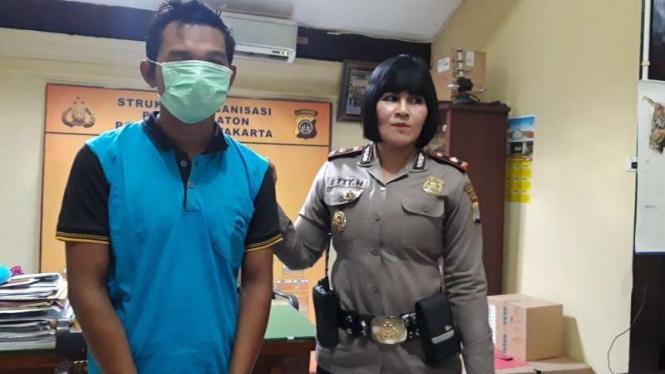 Pelaku pelecehan seksual terhadap mahasiswi di Yogyakarta, UM (29 tahun).
