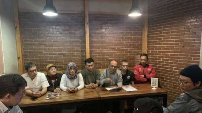 Relawan Ridwan Kamil kecewa