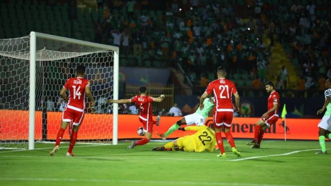 Pertandingan Timnas Nigeria vs Tunisia