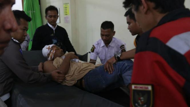 Korban bentrokan di Mesuji dirawat di RS Bhayangkara Lampung