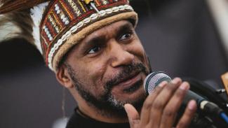Benny Wenda, pemimpin Serikat Gerakan Pembebasan untuk Papua Barat (ULMWP). - Oxford City Council