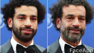 FaceApp Mohamed Salah