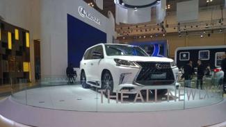 Lexus kembali meriahkan GIIAS 2019.