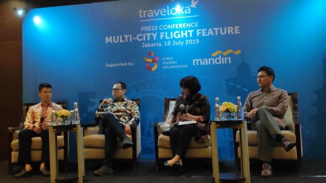 Traveloka meluncurkan fitur multi-city untuk penerbangan hingga lima kota