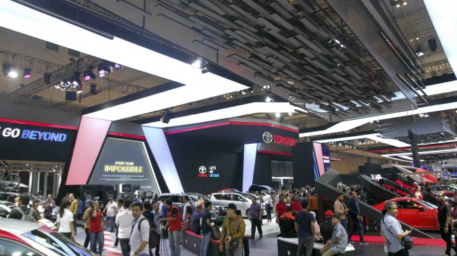 Booth Toyota di GIIAS 2019