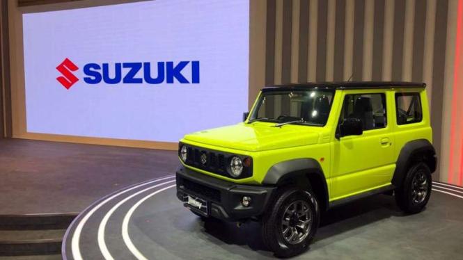 Suzuki Jimny di GIIAS 2019.