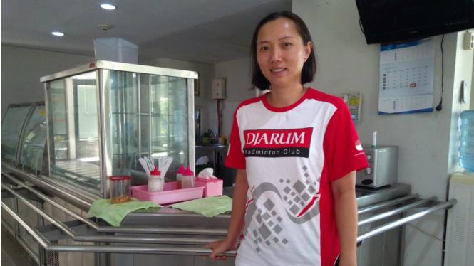 Peraih gelar tunggal putri Indonesia Open 2001, Ellen Angelina