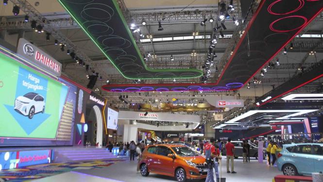 Booth Daihatsu di GIIAS 2019
