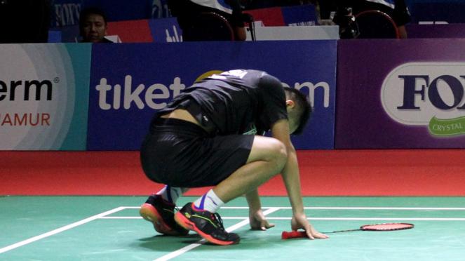 Anthony Ginting Tersingkir dari Indonesia Open 2019
