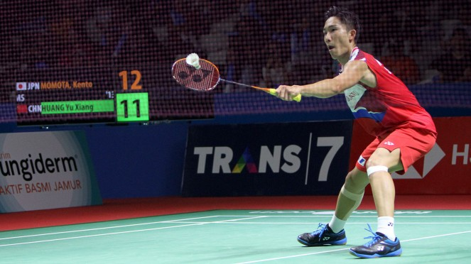 Kento Momota Gagal Pertahankan Titel Indonesia Open