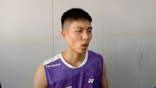 Chou Tien Chen, tunggal putra Taiwan.