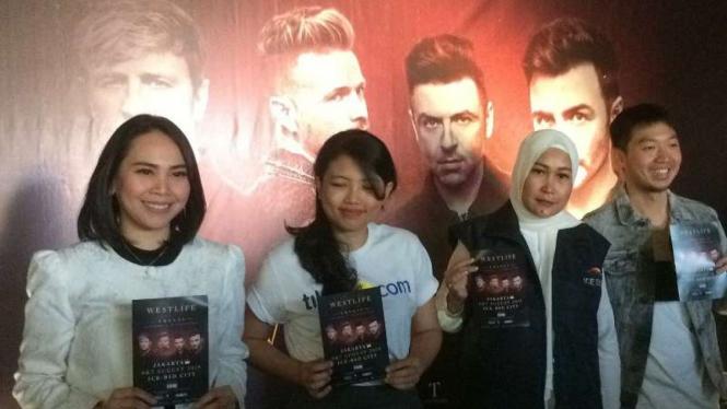 Westlife siap konser di Indonesia