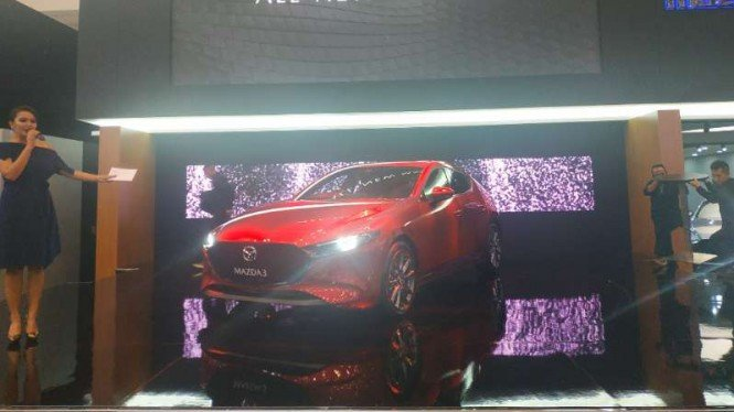 All new Mazda3 meluncur di GIIAS 2019.