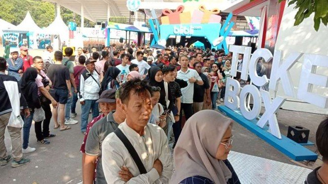 Antrean Tiket Indonesia Open 2019