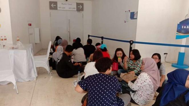 Antrian Masuk Indonesia Open 2019