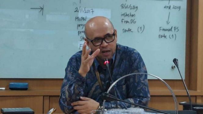 Kepala BPJT Kementerian PUPR, Danang Parikesit.