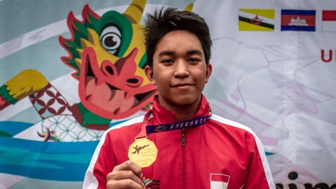 Perenang Indonesia Farrel Armandio
